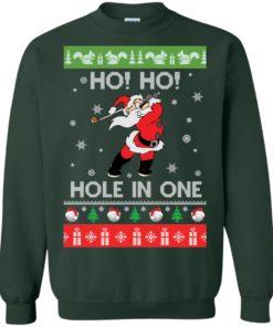 image 142 247x296px Santa Play Golf Ho Ho Hole In One Christmas Sweater