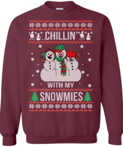 image 154 247x296px Chilling With My Snowmies Christmas Sweater