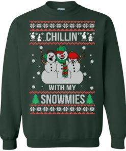 image 156 247x296px Chilling With My Snowmies Christmas Sweater