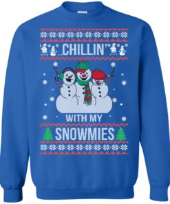 image 157 247x296px Chilling With My Snowmies Christmas Sweater