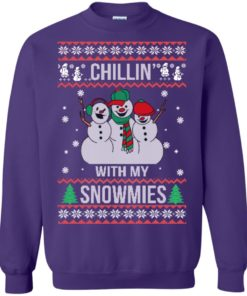 image 158 247x296px Chilling With My Snowmies Christmas Sweater