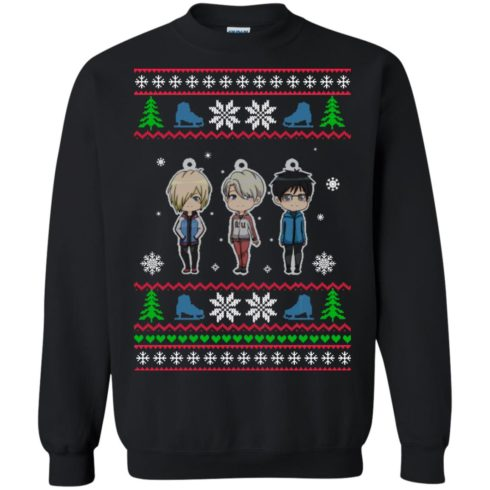 image 159 490x490px Yuri on ice ugly christmas sweater