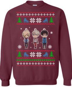 image 160 247x296px Yuri on ice ugly christmas sweater