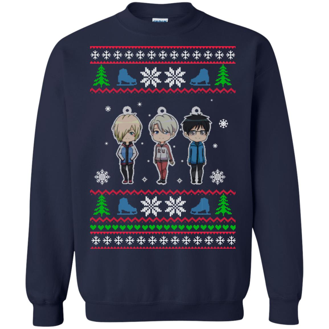 image 161px Yuri on ice ugly christmas sweater