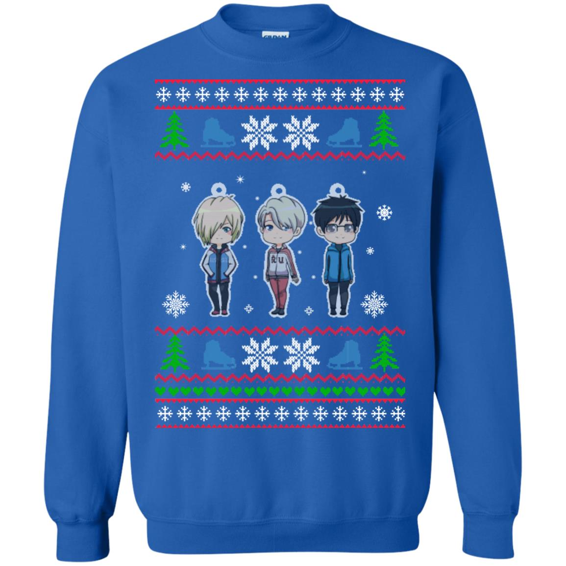 image 163px Yuri on ice ugly christmas sweater