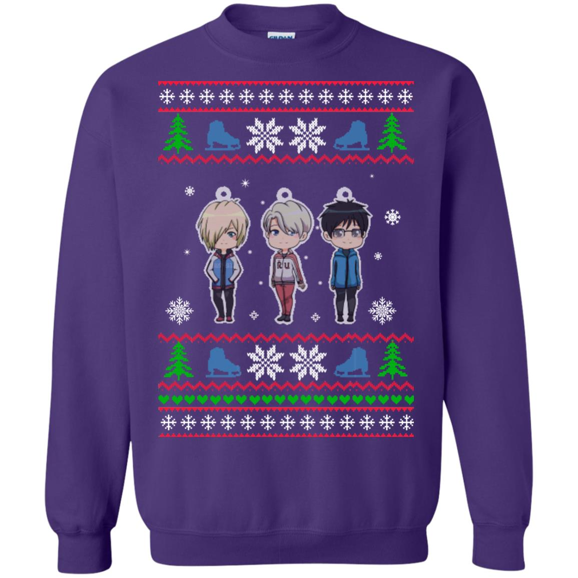 image 164px Yuri on ice ugly christmas sweater