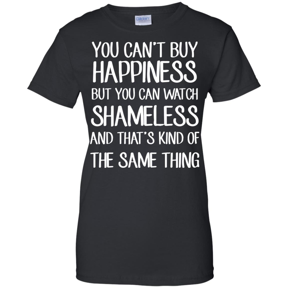 image 215px You can't buy happiness but you can watch Shameless t shirt, hoodies, tank