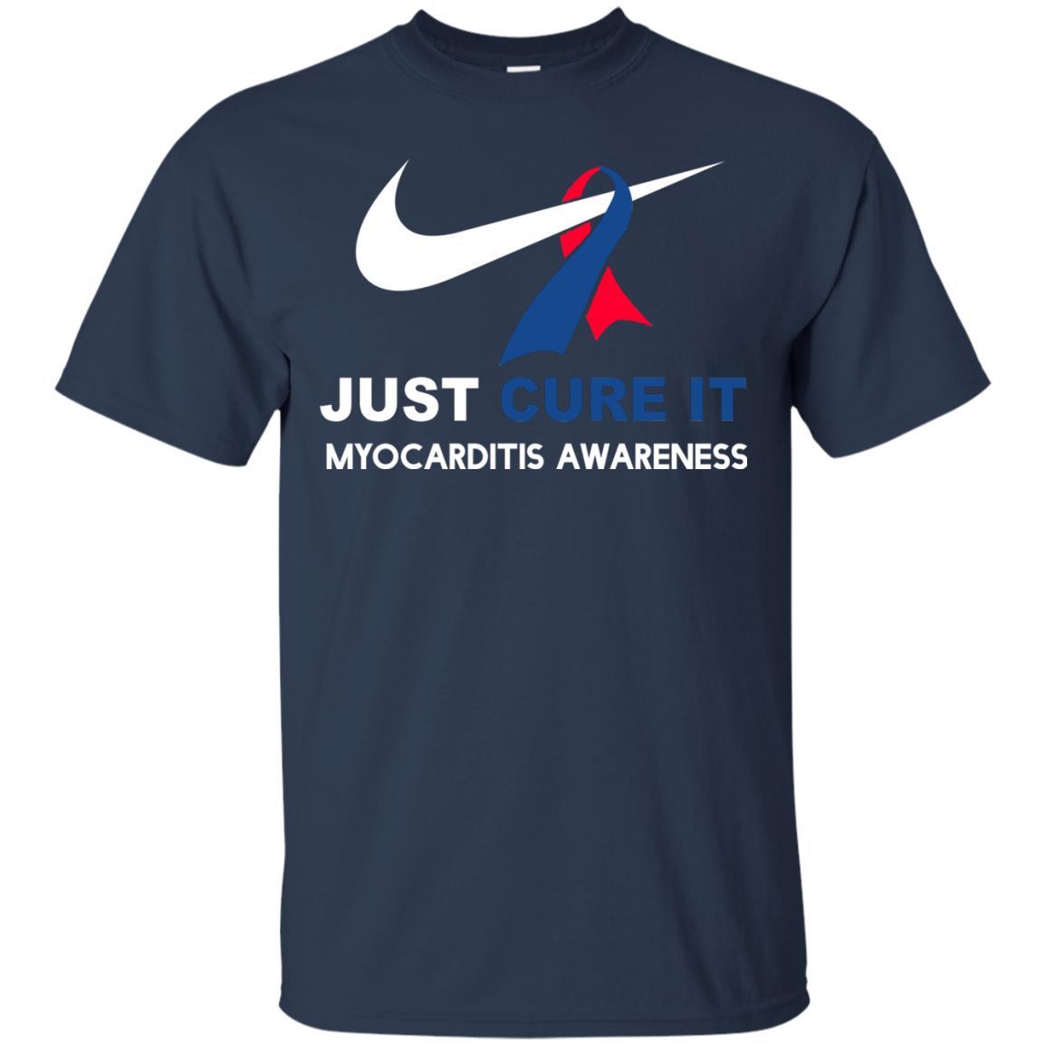 image 29px Myocarditis Awareness Just Cure It T Shirts, Hoodies, Tank Top