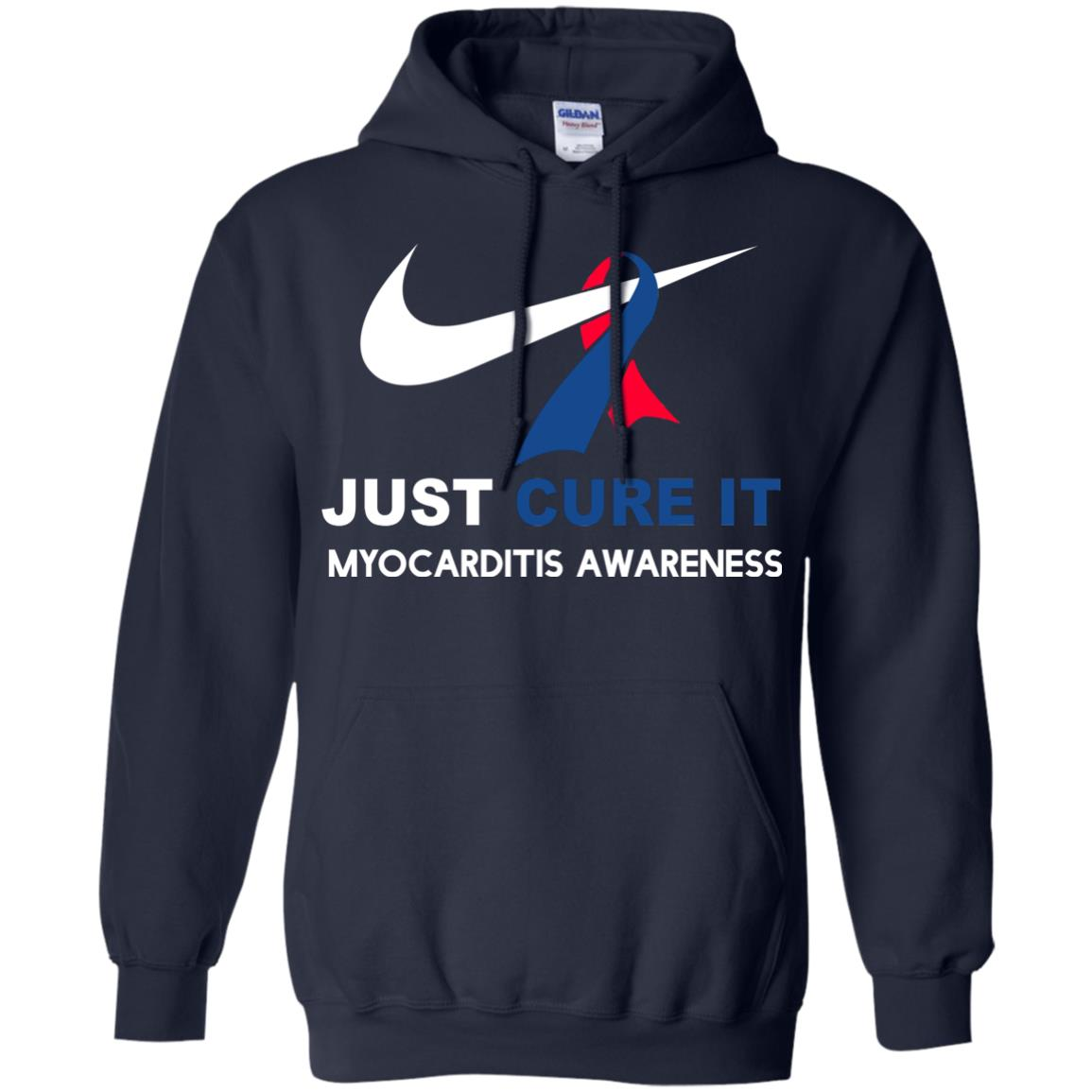image 33px Myocarditis Awareness Just Cure It T Shirts, Hoodies, Tank Top