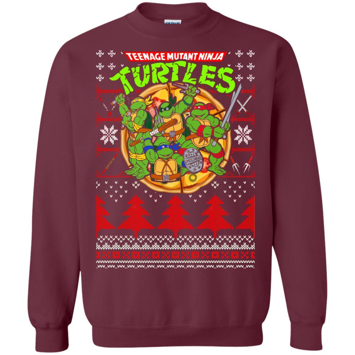image 355px Teenage Ninja Mutant Turtles Christmas Sweater