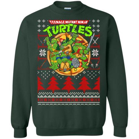 image 357 490x490px Teenage Ninja Mutant Turtles Christmas Sweater