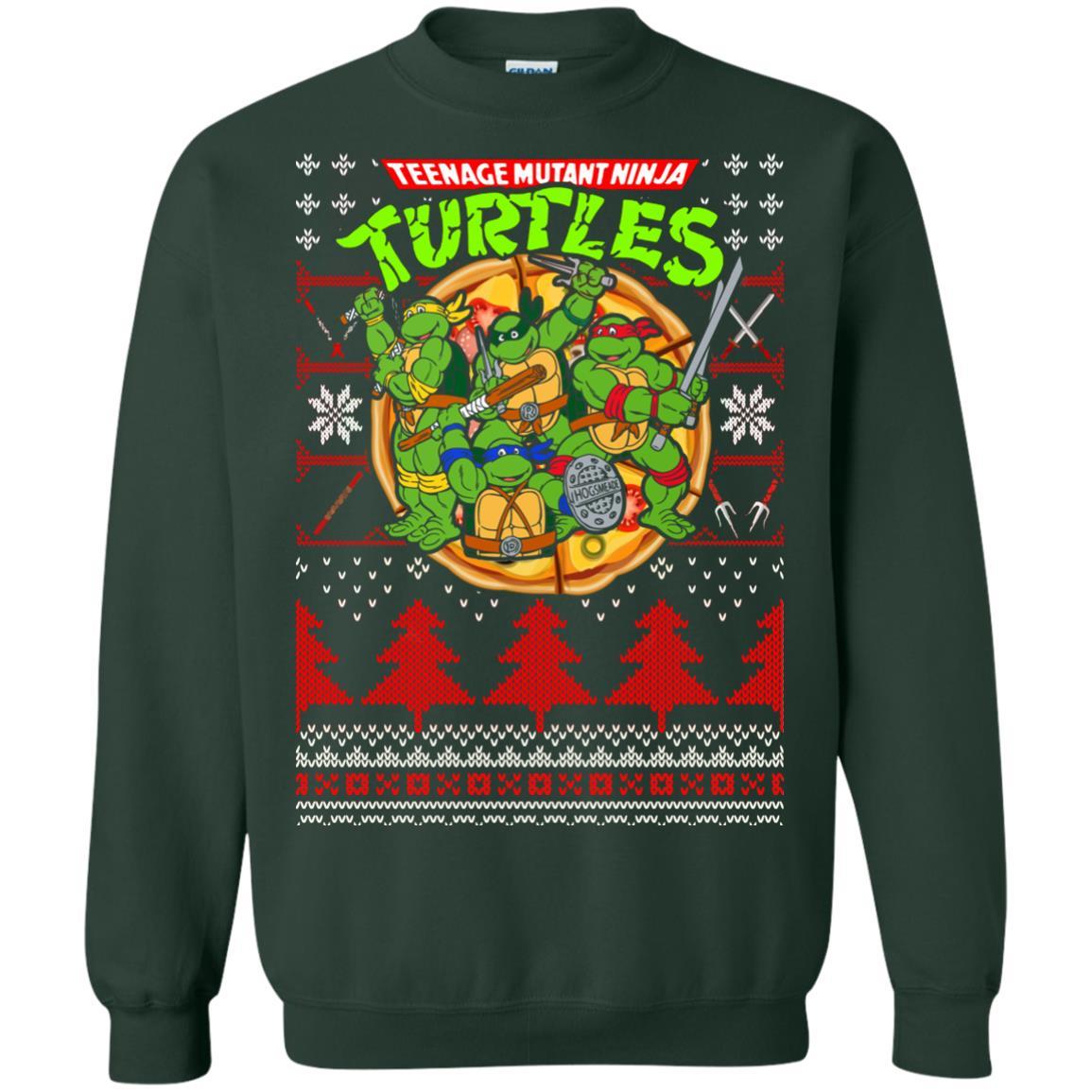 image 357px Teenage Ninja Mutant Turtles Christmas Sweater