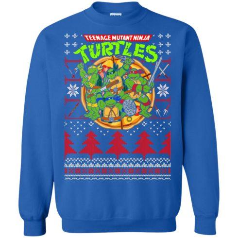 image 358 490x490px Teenage Ninja Mutant Turtles Christmas Sweater