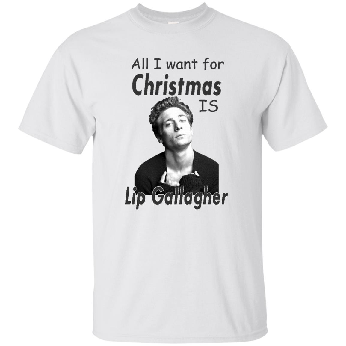 image 361px Shameless: All I want for Christmas is Lip Gallagher T Shirts, Hoodies, Tank Top