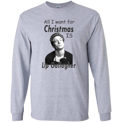 image 363 490x490px Shameless: All I want for Christmas is Lip Gallagher T Shirts, Hoodies, Tank Top