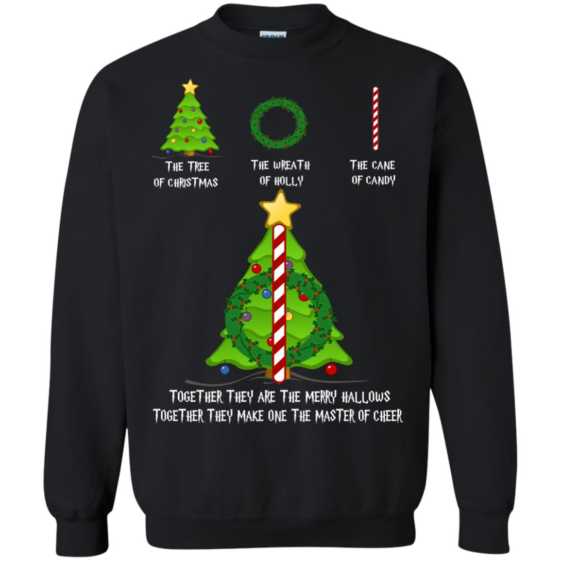 image 367px Harry Potter: The Tree Of Christmas The Wreath of Holly The Cane Of Candy Sweater
