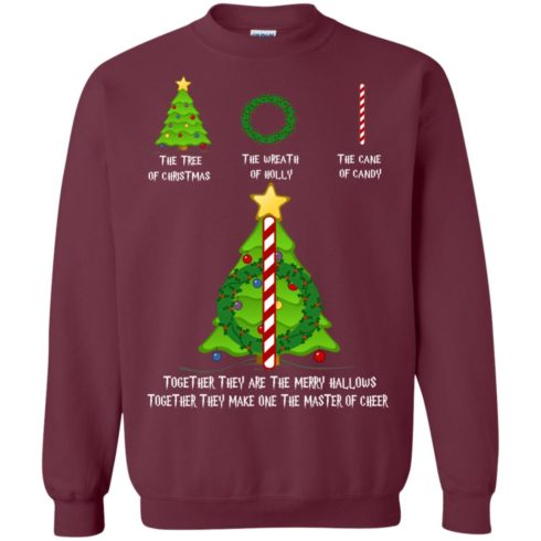 image 368 490x490px Harry Potter: The Tree Of Christmas The Wreath of Holly The Cane Of Candy Sweater