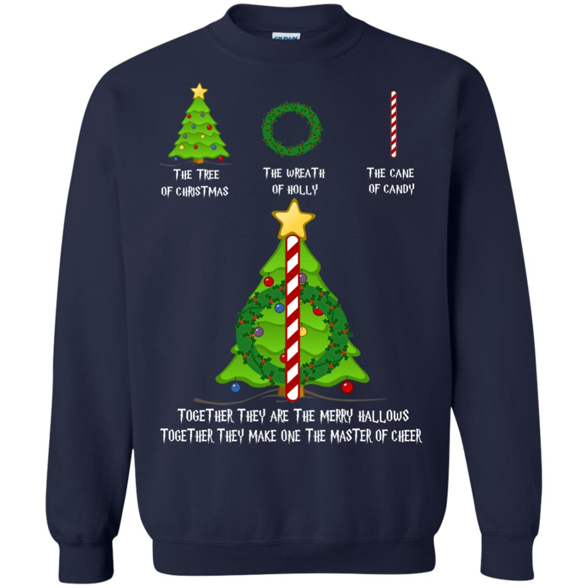 image 369px Harry Potter: The Tree Of Christmas The Wreath of Holly The Cane Of Candy Sweater