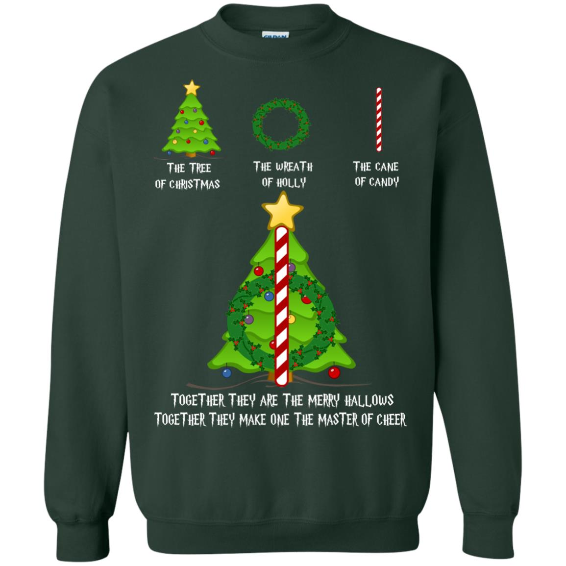 image 370px Harry Potter: The Tree Of Christmas The Wreath of Holly The Cane Of Candy Sweater