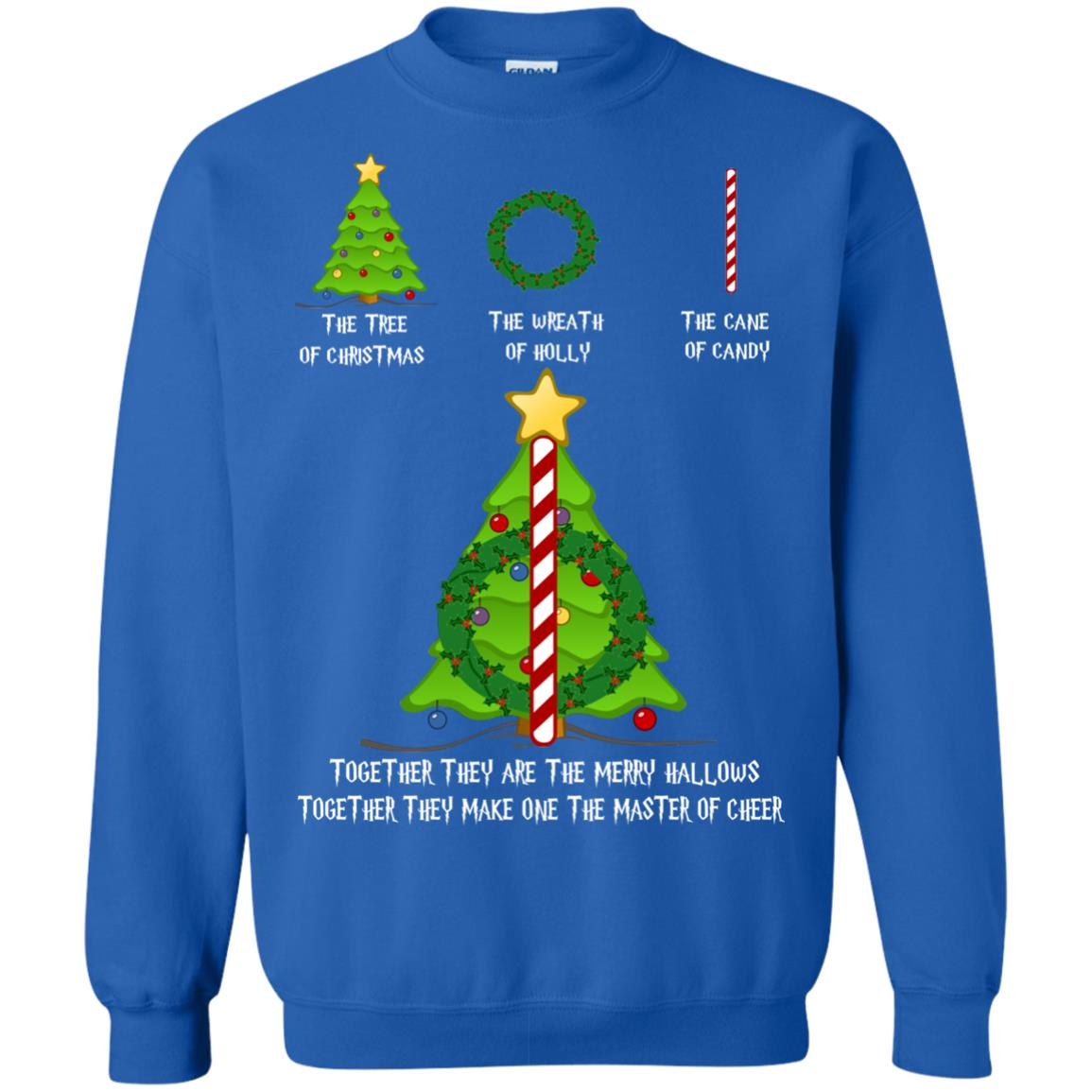 image 371px Harry Potter: The Tree Of Christmas The Wreath of Holly The Cane Of Candy Sweater