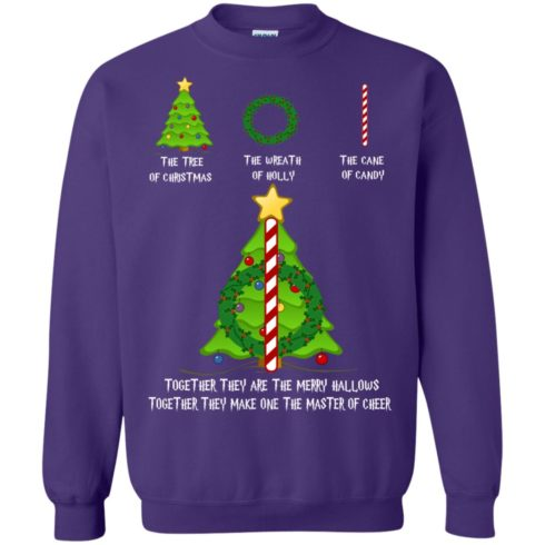 image 372 490x490px Harry Potter: The Tree Of Christmas The Wreath of Holly The Cane Of Candy Sweater