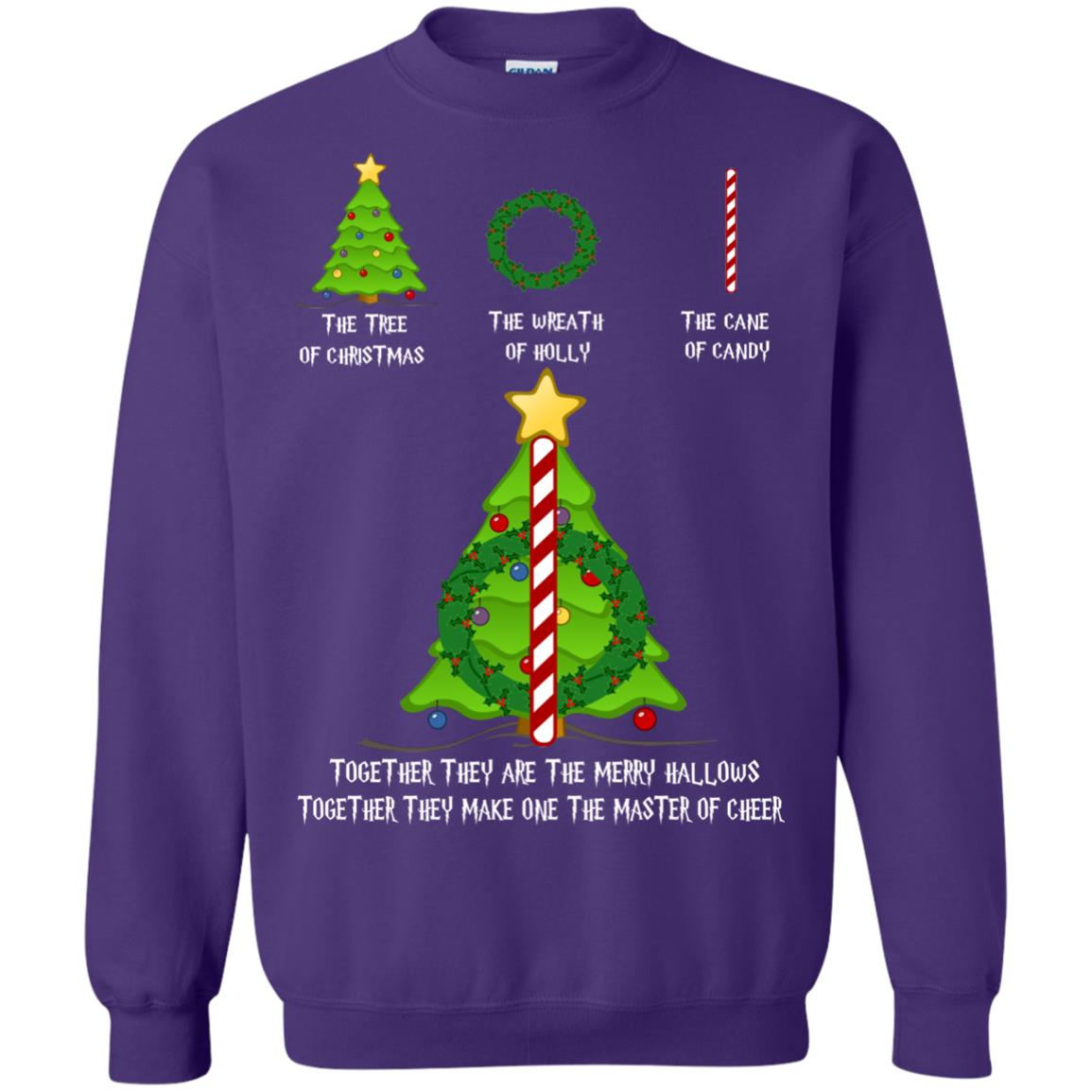 image 372px Harry Potter: The Tree Of Christmas The Wreath of Holly The Cane Of Candy Sweater