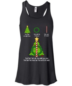 image 375 247x296px The Tree Of Christmas The Wreath of Holly The Cane Of Candy T Shirts