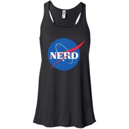 image 396 490x490px Nerd Nasa Logo T Shirts