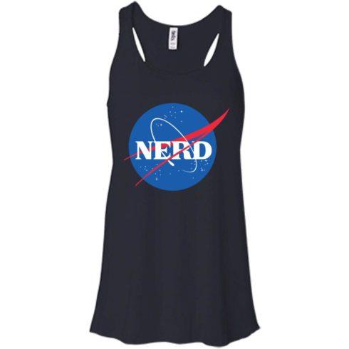 image 397 490x490px Nerd Nasa Logo T Shirts