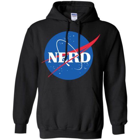 image 398 490x490px Nerd Nasa Logo T Shirts