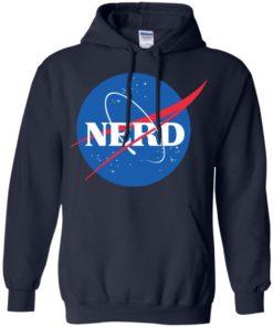 image 399 247x296px Nerd Nasa Logo T Shirts