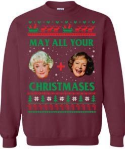 image 419 247x296px The Golden Girls: Dorothy and Rose May All Your Christmases Sweater