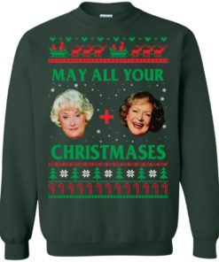 image 421 247x296px The Golden Girls: Dorothy and Rose May All Your Christmases Sweater