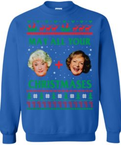 image 422 247x296px The Golden Girls: Dorothy and Rose May All Your Christmases Sweater