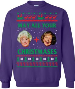 image 423 247x296px The Golden Girls: Dorothy and Rose May All Your Christmases Sweater