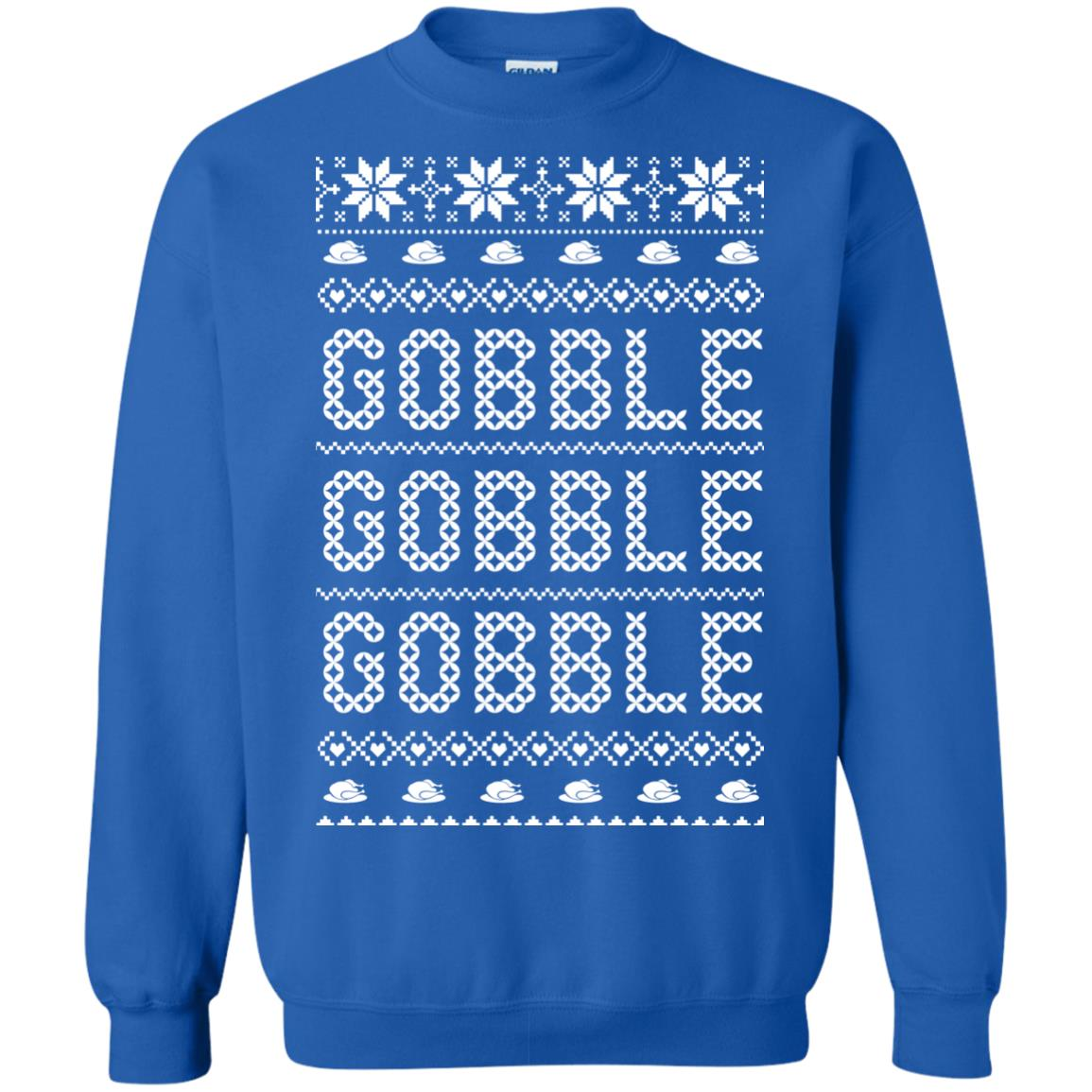 image 434px Gobble Gobble Gobble Ugly Christmas Sweater