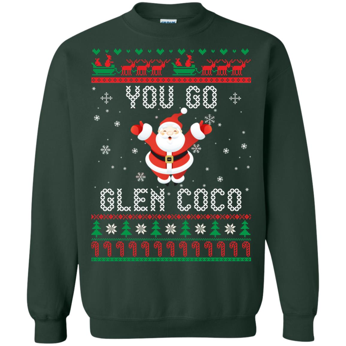 image 602px You Go Glen Coco Ugly Christmas Sweater