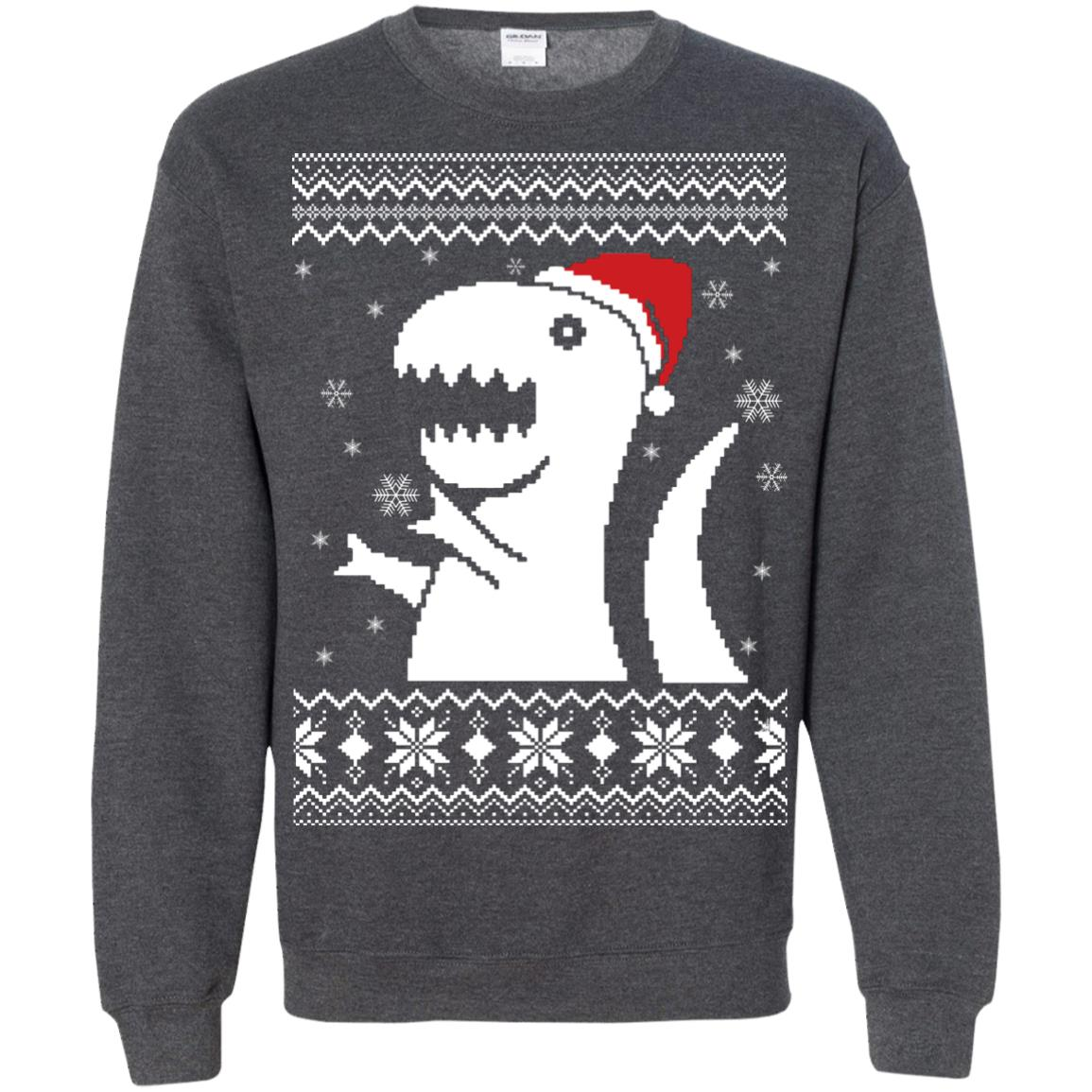image 658px big trex santa christmas sweater
