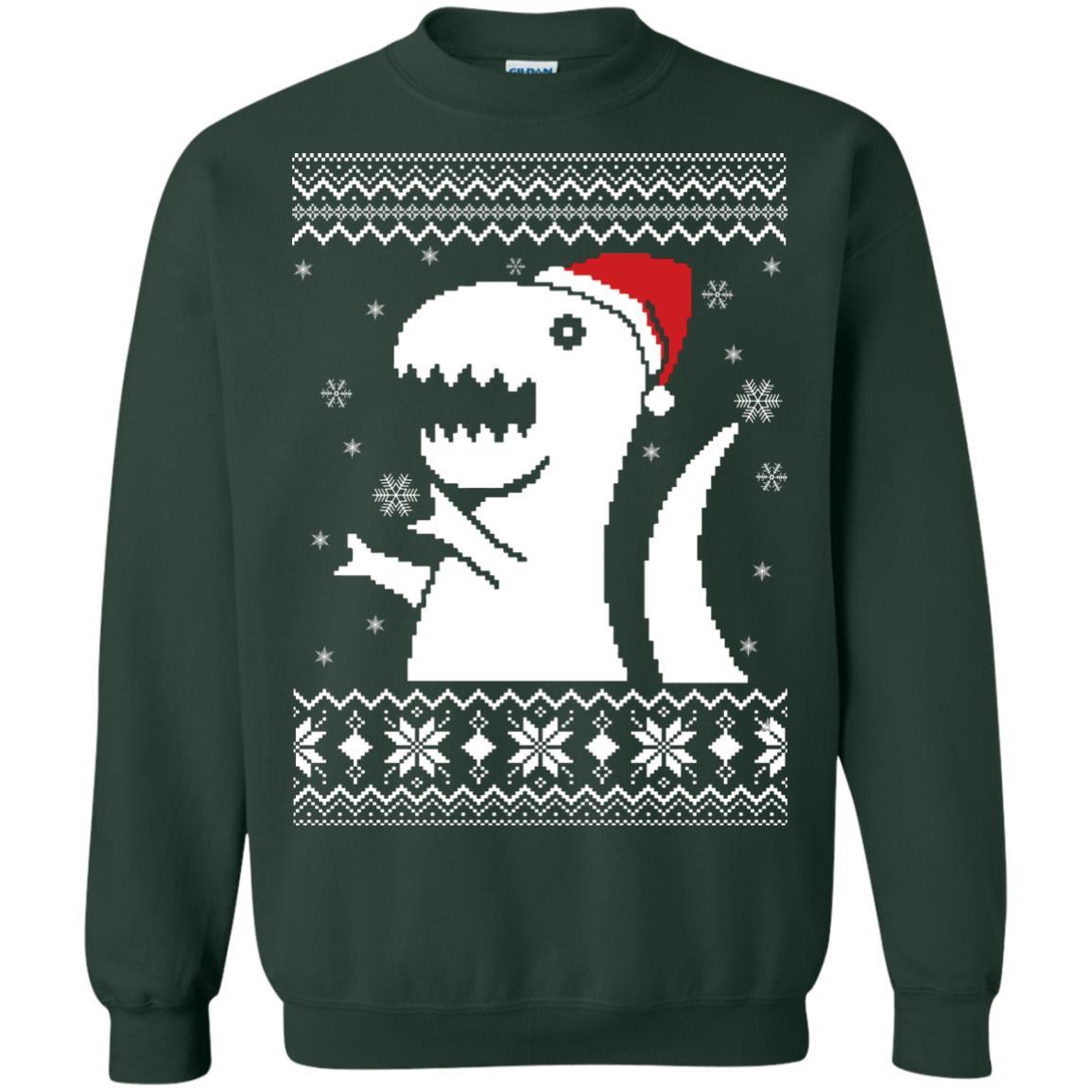 image 661px Big Trex Santa Christmas Sweater
