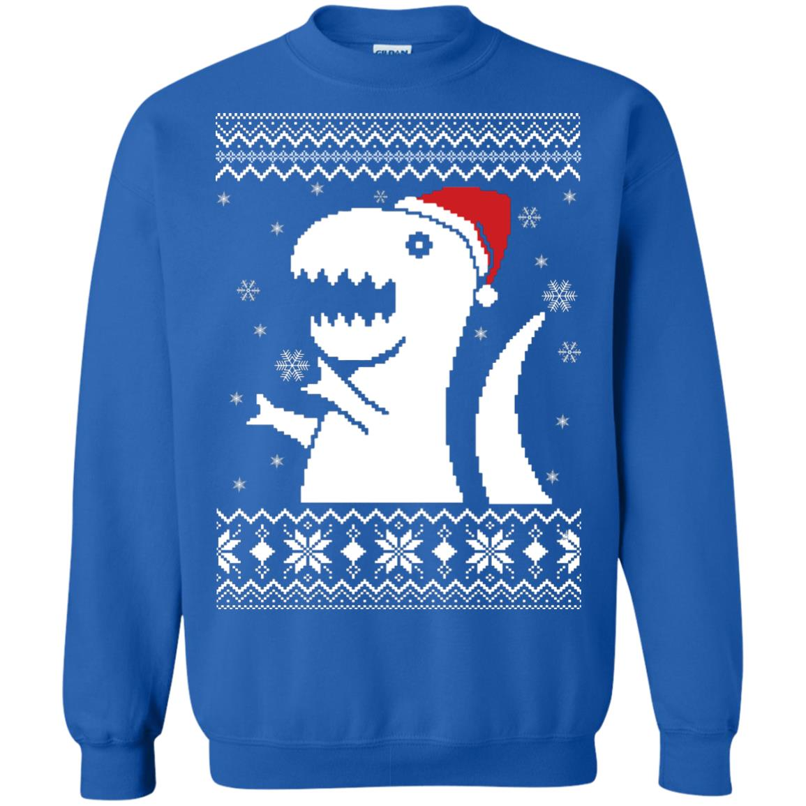 image 662px Big Trex Santa Christmas Sweater