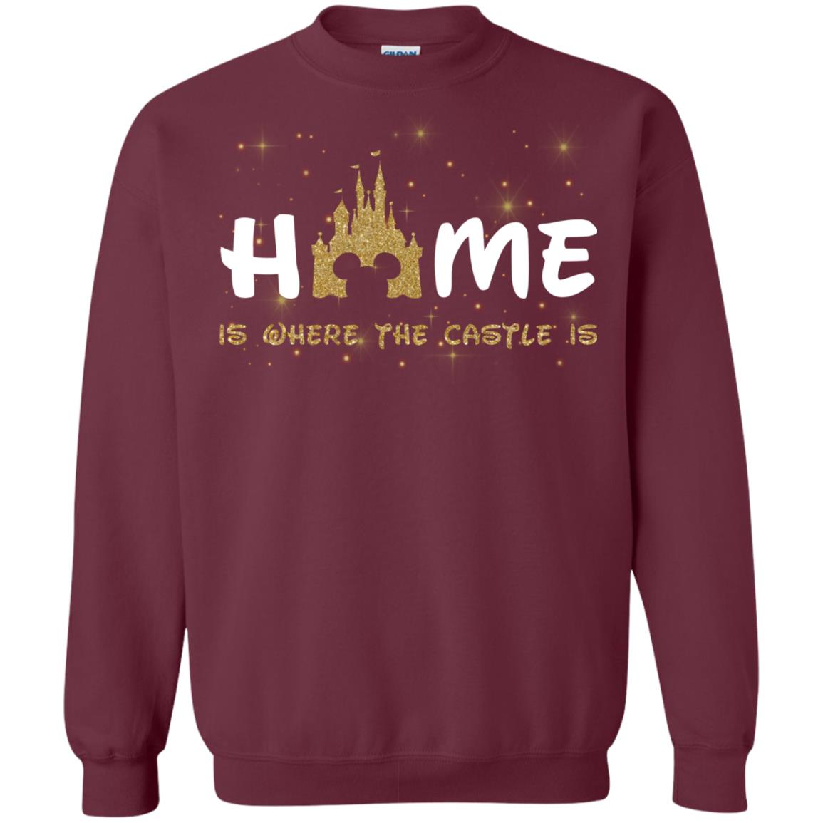 image 666px Disney Sweater: Home Is Where The Castle Is Sweater