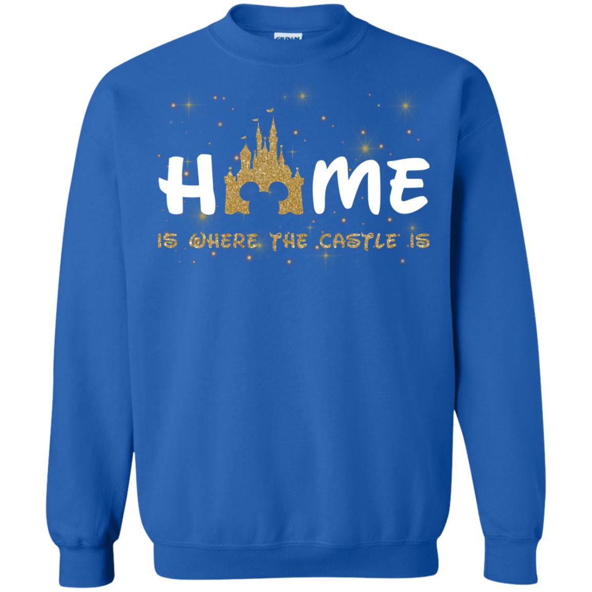 image 669px Disney Sweater: Home Is Where The Castle Is Sweater