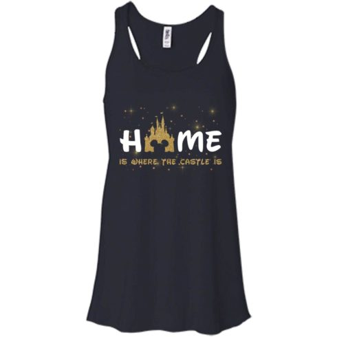 image 676 490x490px Disney: Home Is Where The Castle Is T Shirts, Hoodies, Tank Top