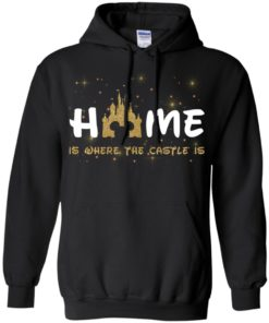 image 677 247x296px Disney: Home Is Where The Castle Is T Shirts, Hoodies, Tank Top