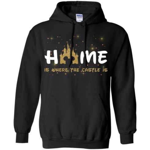image 677 490x490px Disney: Home Is Where The Castle Is T Shirts, Hoodies, Tank Top