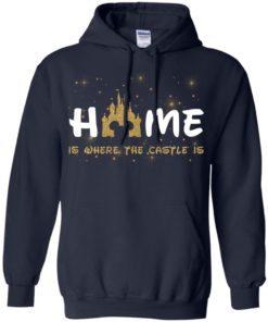 image 678 247x296px Disney: Home Is Where The Castle Is T Shirts, Hoodies, Tank Top