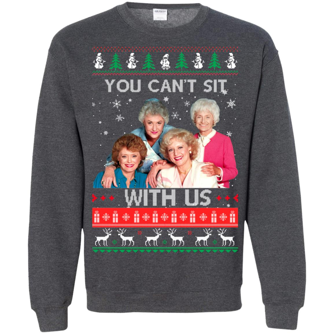 image 720px The Golden Girls: You Can't Sit With Us Ugly Christmas Sweater