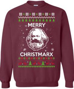 image 730 247x296px Karl Marx Merry ChristMarx Ugly Christmas Sweater