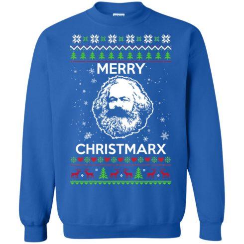 image 733 490x490px Karl Marx Merry ChristMarx Ugly Christmas Sweater
