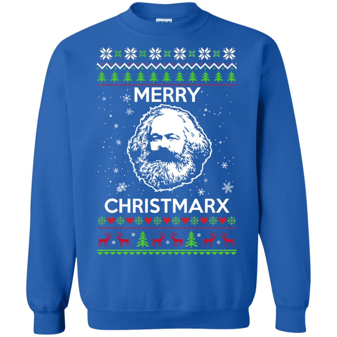 image 733px Karl Marx Merry ChristMarx Ugly Christmas Sweater